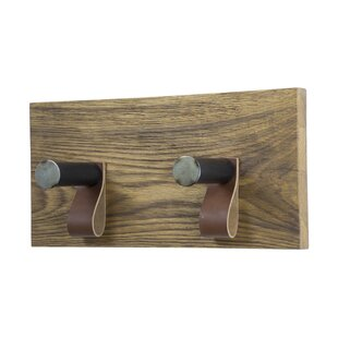 Kangley 2 Hook Wall Mounted Coat Rack By Williston Forge