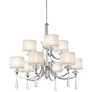 Willa Arlo Interiors Austine 9-Light Shaded Chandelier