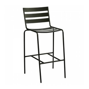 Metro Stationary 30.3'' Patio Bar Stool
