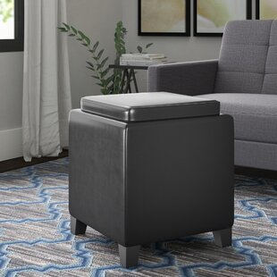 Breen Storage Ottoman by Ebern..