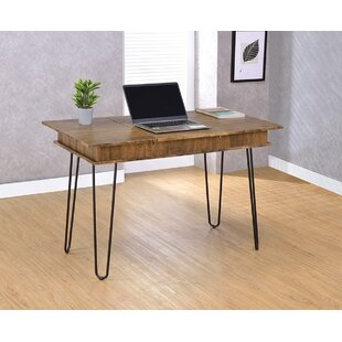 Carpentier Solid Wood Writing Desk by Williston Forge