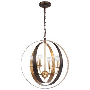 Corrigan Studio Mason 6-Light Pendant