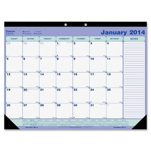 Rediform Office Products Monthly Desk Pad and Chipboard
