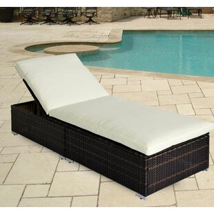 Kittle Sun Lounger With Cushion Image