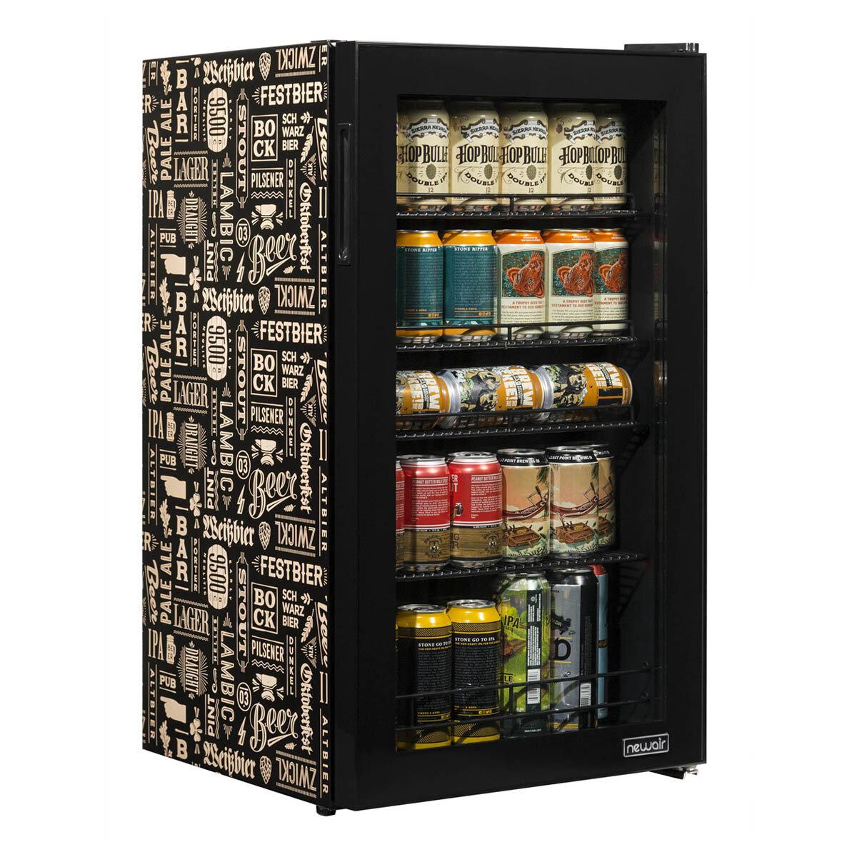 Newair Beers Of The World 126 Can Freestanding Beverage Refrigerator Reviews Wayfair