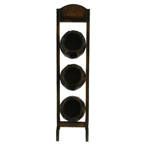 Luisa 3 Bottle Tabletop Wine Rack by Astoria Grand