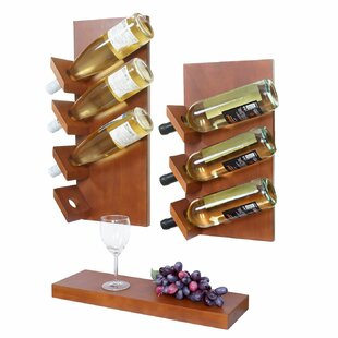 Wamont 7 Bottle Wall Mounted Wine Rack By 17 Stories