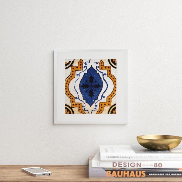Modern Contemporary Blue Agate Art Allmodern
