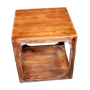 Deablo Wooden End Table by Loon Peak