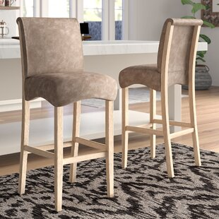 Olive Wattrelos 29.92 Bar Stool (Set of 2) Mistana