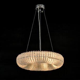 House of Hampton Marlowe 8-Light Crystal Chandelier