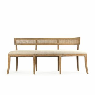 Embla Cane Back Bench