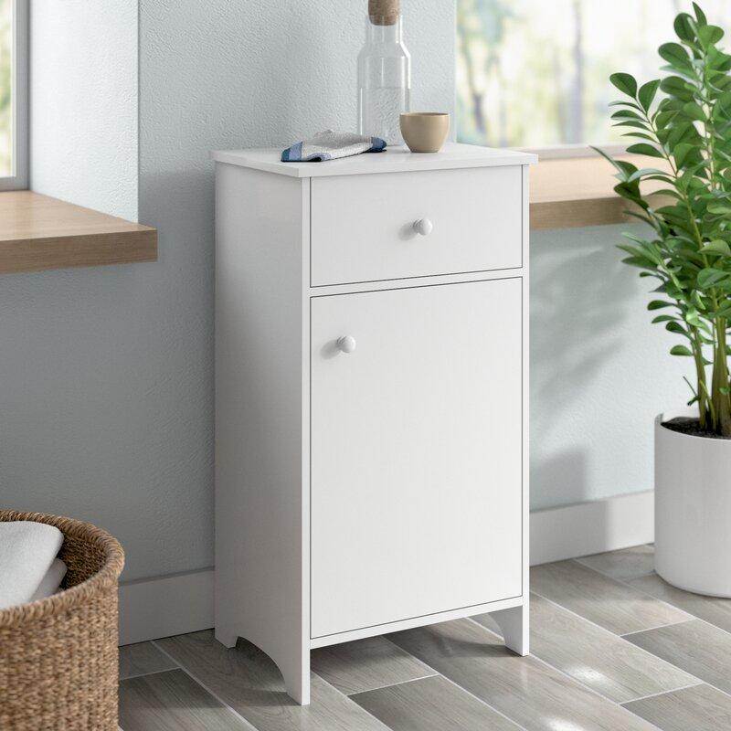 Dotted Line Helen 15 75 W X 29 25 H X 11 75 D Free Standing Bathroom Cabinet Reviews Wayfair