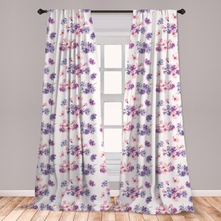 Lavender Curtains For Bedroom Wayfair