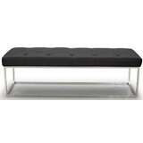 Secor Lux Faux Leather Bench by Brayden Studio®