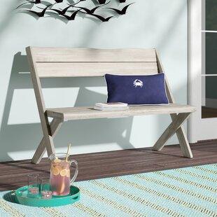 Pleasant Low Cost Michalski Eucalyptus Garden Bench By Bloomsbury Ibusinesslaw Wood Chair Design Ideas Ibusinesslaworg