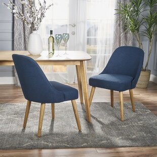 Bowyer Upholstered Dining Chair (Set of 2) Ivy Bronx