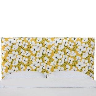Latitude Run Mac French Seam Slipcover California King Upholstered Panel Headboard