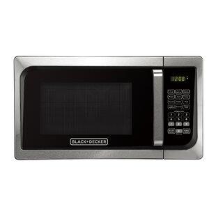 Pull Handle 19 0.9 cu.ft. Countertop Microwave by Black + Decker
