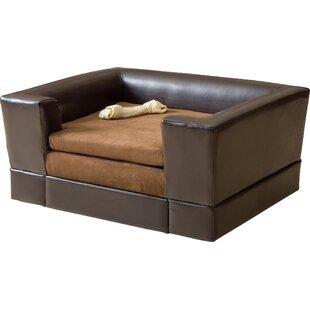 Deon Rectangle Cushy Dog Sofa
