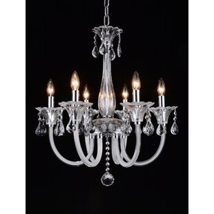 Astoria Grand Waris 6-Light Chandelier