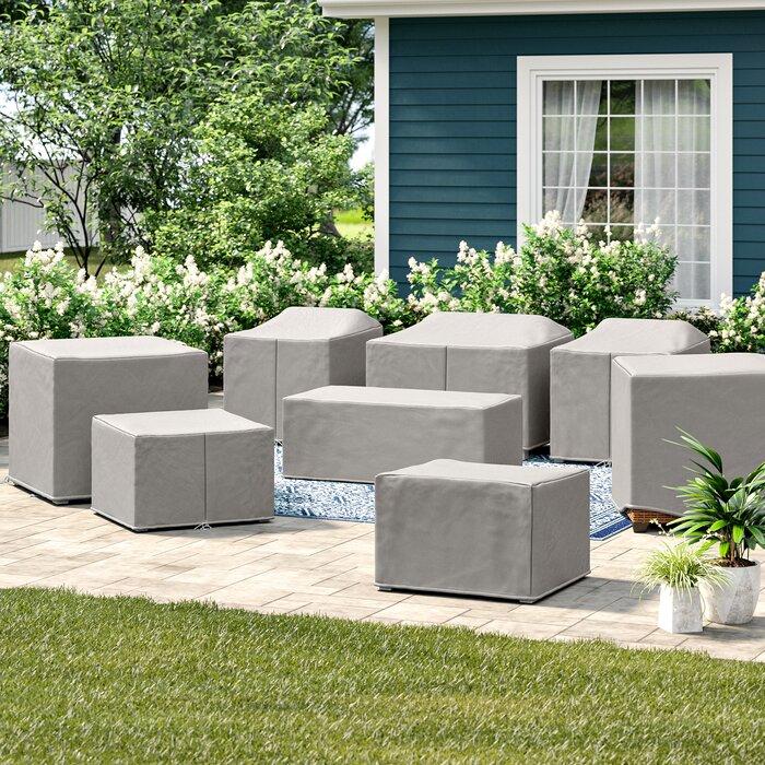 Fairfield 8 Piece Patio Furniture Cover Set