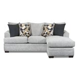 Alixandrea 91 Reversible Modular Sofa and Chaise by Latitude Run