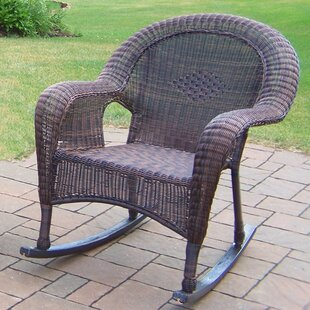 Resin Wicker Rocker (Set Of 2) by Oakland Living Best