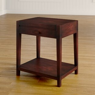 Roodhouse 1 Drawer Nightstand by Charlton Home