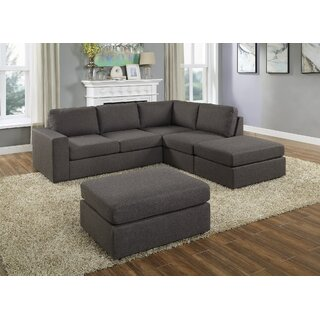 Whitnash Sectional with Ottoman by Ebern Designs SKU:CC229938 Details