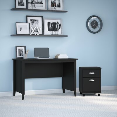 Connecticut 48W Writing Desk Kathy Ireland Office by Bush Size: 30 H x 47.24 W x 23.54 D