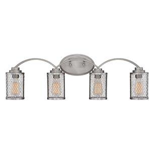Williston Forge Bastien 4-Light Vanity Light