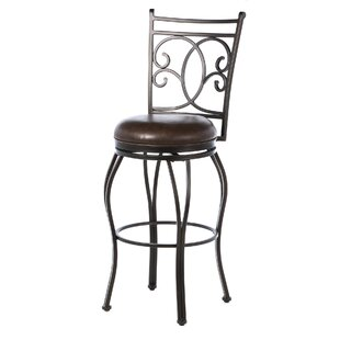Loesch 30 Swivel Bar Stool By Darby Home Co