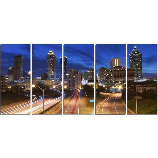 Atlanta Skyline Wall Art Wayfair