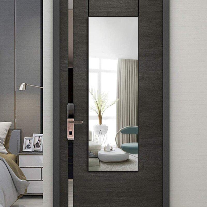 Latitude Run® Full Length Wall Mirror Bedroom Floor Mirror ...