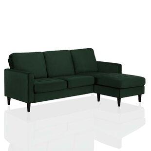 Strummer Reversible Corner Sofa By CosmoLiving By Cosmopolitan