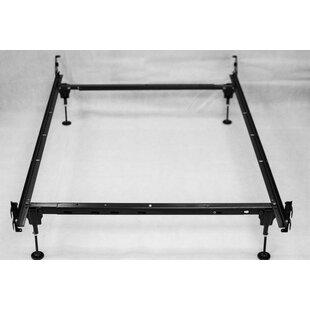 Hewitt Heavy Duty Adjustable Size Bed Frame by Alwyn Home