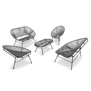 Shopping for Ehrlich 5 Piece Sofa Seating Group Great price