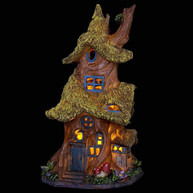 August Grove® Fairy House Fairy Garden & Reviews | Wayfair