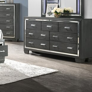 Anthea 7 Drawer Double Dresser by House of Hampton