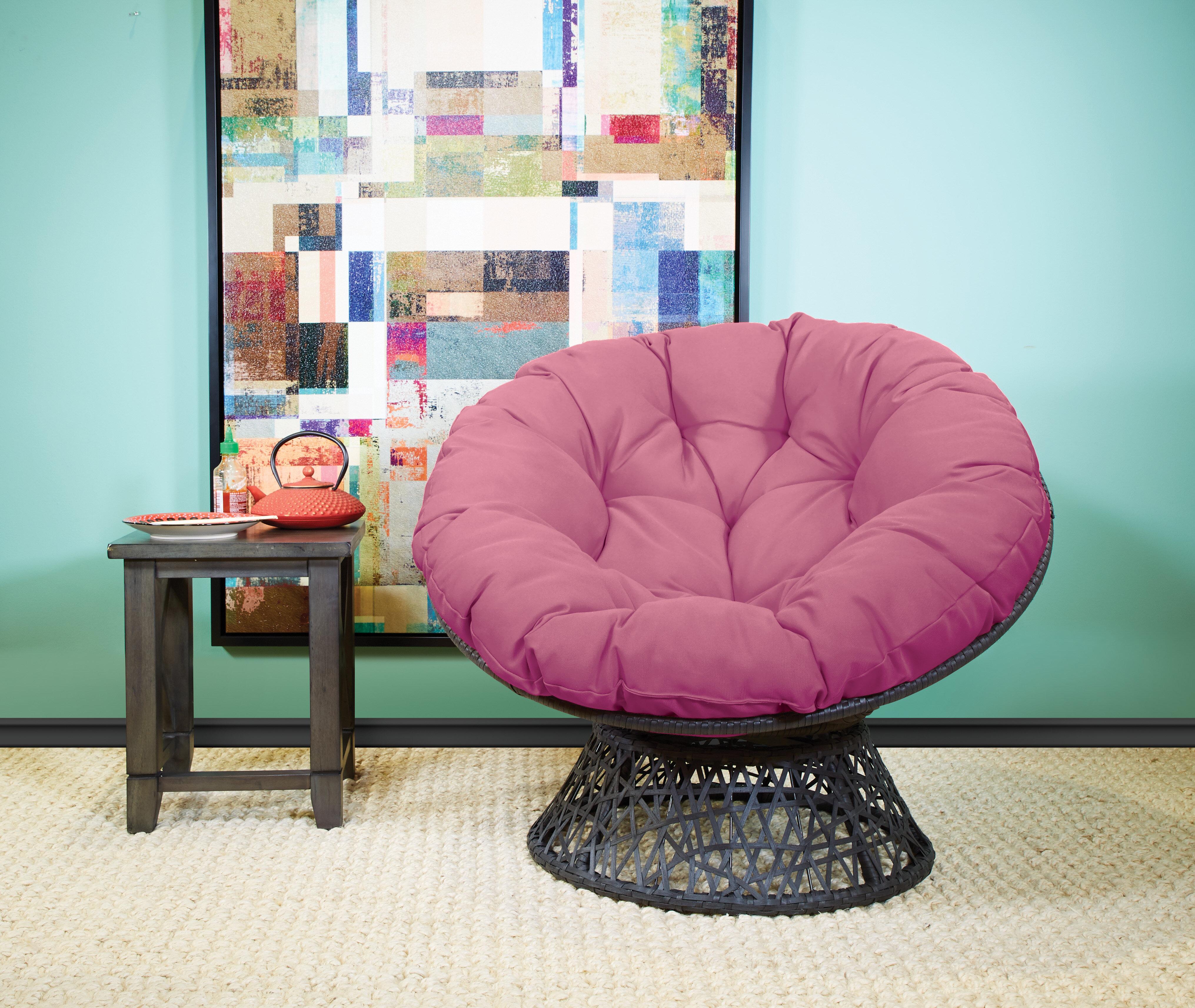 Papasan Purple Accent Chairs You Ll Love In 2021 Wayfair