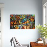 When the Dreams Came True by Leonid Afremov - Wrapped Canvas Print