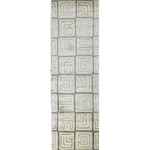 Lucus Hand-Tufted White Area Rug