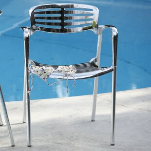 Addisyn Stacking Patio Dining Chair (Set of 4)