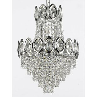 Willa Arlo Interiors Charvi 4-Light Empire Chandelier