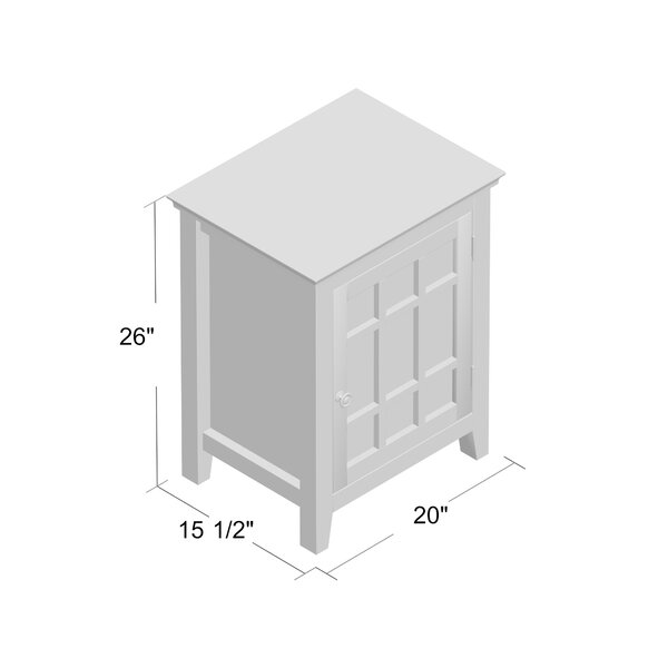 Lankin 1 Door Accent Cabinet Reviews Birch Lane