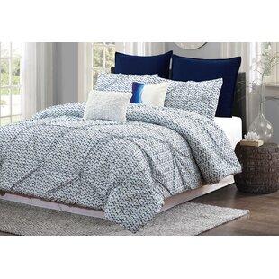 Ebern Designs Racheal 7 Piece Comforter Set