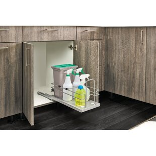 Sink Base Waste and Cleaning Pull Out Drawer by Rev-A-Shelf