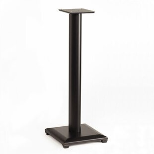 30 Fixed Height Speaker Stand in Black Set of 2