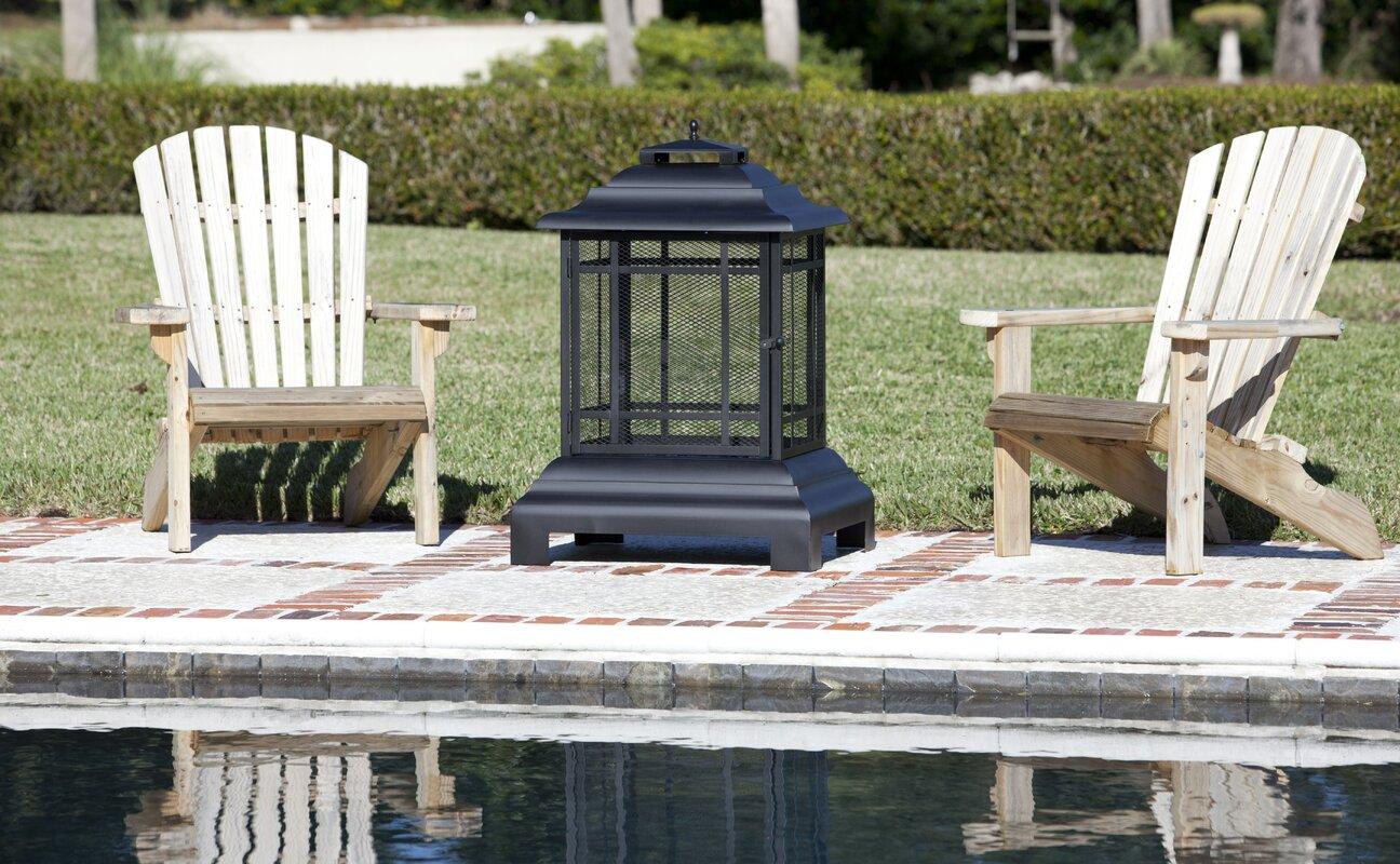 Sunjoy Industries Patio Heater Fire Sense Patio Steel Charcoal Pagoda U0026  Reviews Wayfair